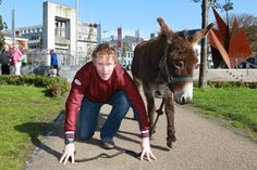 first annual Galway Comedy Festival Donkey Derby