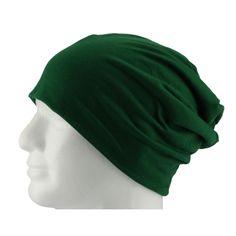 Long Beanie XXL Mütze Slouch Damen Herren Kinder Mütze - dark green in Bekleidung Accessoire  • Mützen Beanie