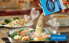 Click for College Inn® Broth Recipes: College Inn® Broth has been bringing out rich, bold flavor with the highest-quality ingredients and perfect blend of seasonings since 1923.