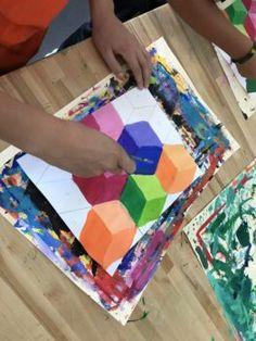 my students love this project soooooo much! Middle School Art Projects, School Ideas, 7th Grade Art, Value In Art, Kids Art Class, Art Lessons Elementary, Painting Lessons, Elements Of Art, Art Lesson Plans