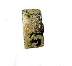 Ladies Leather Clutch Wallet or Phone Wallet with by JasperandHide