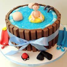 Boa Noite! Mudamos o endereço do Blog, por este motivo, nossas postagens ficaram atrasadas... mas voltamos, e voltamos com um tema soli... 7th Birthday, Birthday Parties, Birthday Cake, Luau, 50th Cake, Camping Parties, Its My Bday, Princesas Disney, Party Cakes