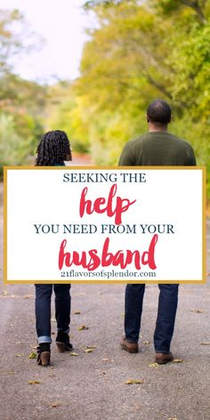 As wives, to grow and strengthen your marriage you have to learn to ask for help from your husband when needed. Click... #marriage #wife #growth