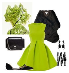 """""""Greenish girl"""" by nikica21 on Polyvore featuring Chesca, J.Crew, Givenchy, Jorge Adeler and Chanel"""