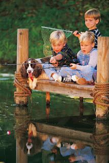 Fishin' down at the pond