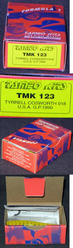 1 43 Scale 145976: 1:43 - Tameo Kits - Tmk 123 - Tyrrell Cosworth 018 - Usa Gp 1990 - Italy -> BUY IT NOW ONLY: $69.29 on eBay!
