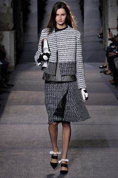 The skirt suit, beautifully interpreted by @Proenza Schouler Fall 2013 RTW. #runway