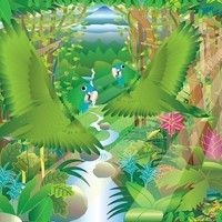 Rainforest Day - Mealy Amazon Parrots by dhysom on SoundCloud