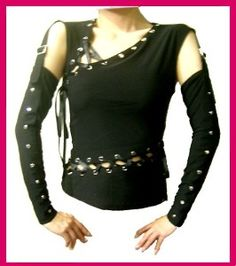 Dark Shadow Vengeful Tomb Punk cosplay goth diy Top S Could come in handy for me Edward Scissorhands cosplay!