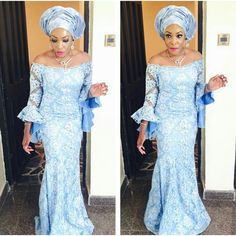You can't go wrong with an outstanding style for your Aso-Ebi! For a wedding, the bride is always in charge of choosing colors, texture and type of fabric she wants…