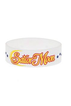 Sailor Moon White Rubber Bracelet #HotTopic $7.00 Sailor Moon Collectibles, Star Jewelry, Jewelry Bracelets, Necklaces, Rubber Bracelets, Nerd Herd, Fandom Fashion, Sailor Jupiter, Hot Topic