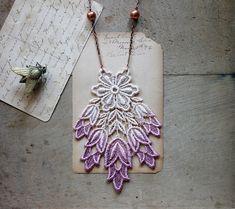 Кружевные ожерелья White Owl
