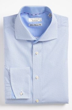Ted Baker London Trim Fit Dress Shirt available at #Nordstrom