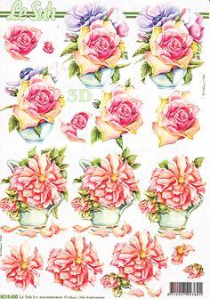 3D knipvel Le Suh Nouvelle 8215.420 - 3D sheets Nouvelle 301 up to 400 - 3D sheets A4 size - 3D Sheets Hobbyshop Nellie Snellen