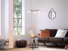 Lampa wisząca VENDEE LED 3x4,5W brąz (36037/06/16) - Philips