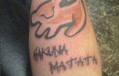 Lion King Hakuna Matata