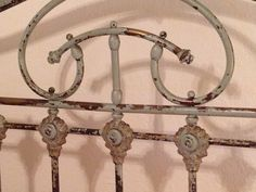 My 1920s French cast iron bed