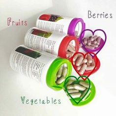 Juice Plus berries, fruits and vegetables. A nobrainer.