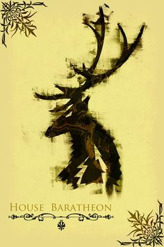 A Song of Ice and Fire - House Baratheon (by jackthreads)