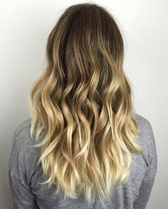 golden blonde balayage for dark brown hair