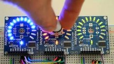 LED ring for encoders - overview - Electronics Projects, Hobby Electronics, Electronics Components, Electronics Gadgets, Robotics Projects, Led Projects, Electrical Projects, Circuit Projects, Electronic Engineering