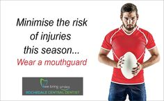 Remember, a mouthguard offers the best protection whether you play sports or suffer from a sleep disorder. Contact Sport, Mouth Guard, Beautiful Smile, Good Mood, Self Esteem, Vulnerability, Trauma, Rugby, Books Online