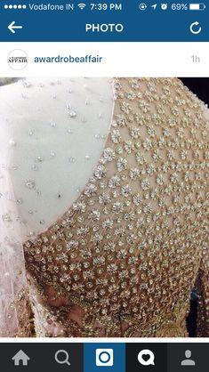 Faraz manan imperial a/w'15 Zardosi Embroidery, Tambour Embroidery, Embroidery Suits Design, Hand Embroidery Designs, Couture Embellishment, Faraz Manan, Ethnic Design, Lesage, Pakistani Outfits