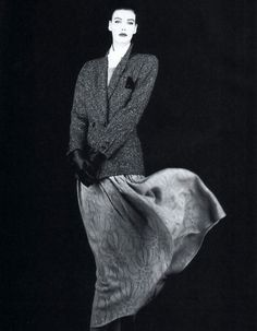 Krizia, American Vogue, September 1987. Photograph by Giovanni Gastel.