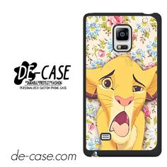 Simba Making Face DEAL-9603 Samsung Phonecase Cover For Samsung Galaxy Note Edge