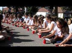 Cup song collège du Bernstein - Dambach la ville - Alsace - YouTube