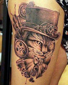 As Melhores Ideias de Tatuagem de Gato