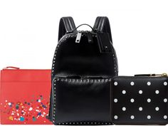 Notion Magazine featured our Comme Des Garcons Full Zip Polka Dot Wallet as part of their pick of the best AW15 accessories. Priced at £135.
