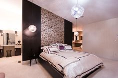 Imagine how peaceful your dreams will be here! Contemporary, Urban luxury home design inspiration! Hoxton Homes - Butterfly Showhome now building in WestPointe of Windermere Beautiful Home Designs, Beautiful Homes, Windermere, Luxury Homes, Dreaming Of You, Architecture Design, Design Inspiration