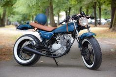 VANVAN by MFC Paris VAN-VAN HEDONIST MFC Design - Préparation motos, peinture, design, tuning, Suzuki - Kawasaki