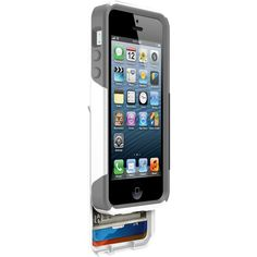 Sick of the pocket clutter? Get this awesome iPhone 5/5S OtterBox Commuter credit card case.  Available @ www.Shieldmans.com