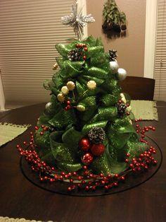 Cosa fantástico: Árbol de Navidad de malla