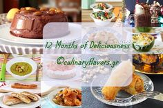 Twelve Months of Deliciousness at culinaryflavors.gr | A delicious selection of the best sweet and savory dishes of 2015 | #sweet #dessert #savory #selection #food #chicken #salmon #soup