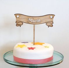 Wooden Cake Toppers, Tiered Cakes, My Etsy Shop