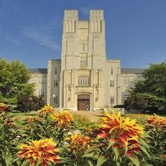 Virginia Tech-Burruss Hall