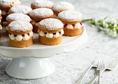 Mini Victoria Sponge Cakes | Baking Mad