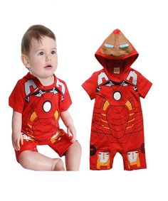 Boy IronMan Party Costume Baby Rompers Outfit One-pieces Clothes - Kinder Mode Ideen Newborn Clothes Unisex, Baby Outfits Newborn, Baby Boy Newborn, Baby & Toddler Clothing, Baby Boy Outfits, Kids Outfits, Toddler Outfits, Baby Girls, Girl Clothing