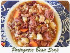 Portuguese Bean Soup recipe a local island favorite. Get more delicious Hawaiian food recipes here.