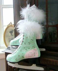 Mint ice skates, want the same!