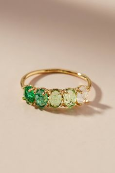 Ombre Birthstone Ring #ad #AnthroFave #AnthroRegistry Anthropologie