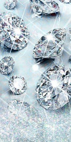 Diamond Wallpaper, Bling Wallpaper, Flowery Wallpaper, Apple Logo Wallpaper Iphone, Cellphone Wallpaper, Aesthetic Iphone Wallpaper, Diamond Glitter, Diamond Gemstone, Beautiful Wallpapers For Iphone
