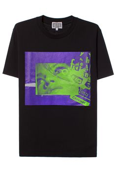 CAV EMPT BLACK EMC T-SHIRT Black cotton short sleeve T-shirt featuring graphic on front. Made in Japan. 100% cotton. SIZE & FIT Japanese-cut men's sizes. Run small. CAV EMPT Engineered by the enigmatic Bape lead designer SK8THING and the creative director Toby Feltwell, Cav Empt (aka C.E ) is a Japan-based label with a radical cult following.