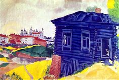 Marc Chagall, The Blue House, 1917.