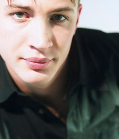 A young Tom Hardy