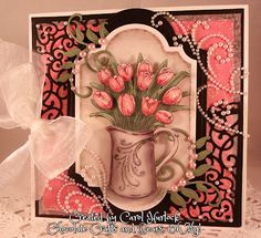 Chocolate Crafts and Bears, Oh My!: Fred She Said Tulip Bouquet
