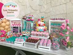 Party Sweets, Candy Party, Party Cakes, Candy Table, Candy Buffet, Dessert Bars, Dessert Table, Party Fiesta, Healthy Bars
